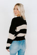 EVA THICK STRIPE SWEATER