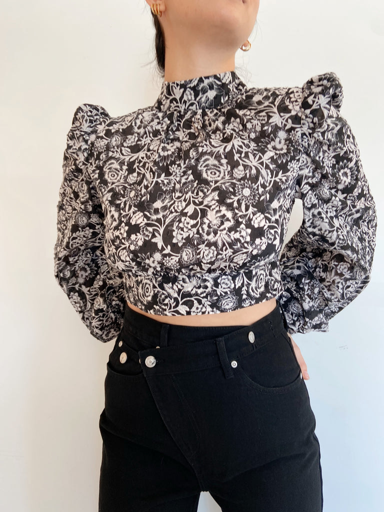 LENNOX FLORAL TOP