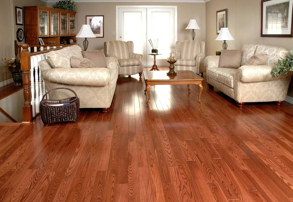 brown toned hardwood flooring