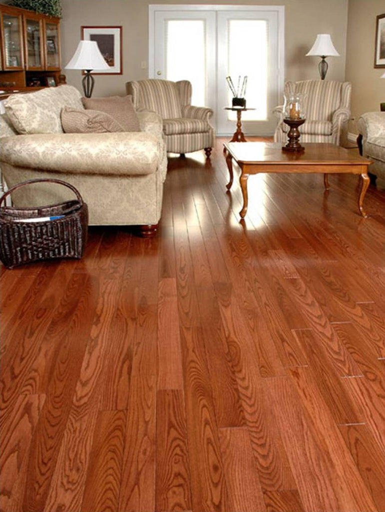 red toned hardwood flooring in ash