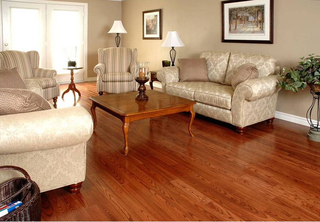 Medium Tone Flooring Hardwood