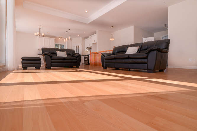 solid beech wood flooring