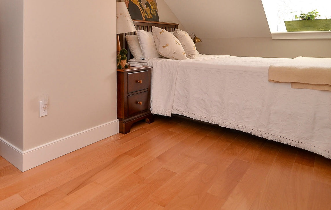 Natural custom wood flooring