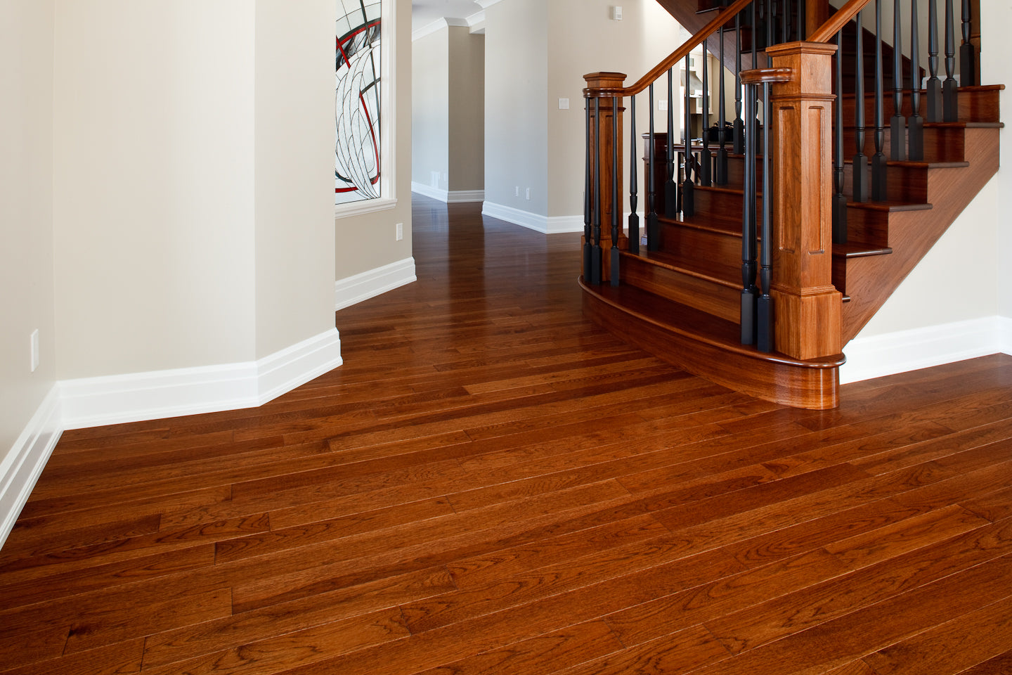 Hickory Brandon hardwood flooring by Gaylord Hardwood Flooring in Toronto