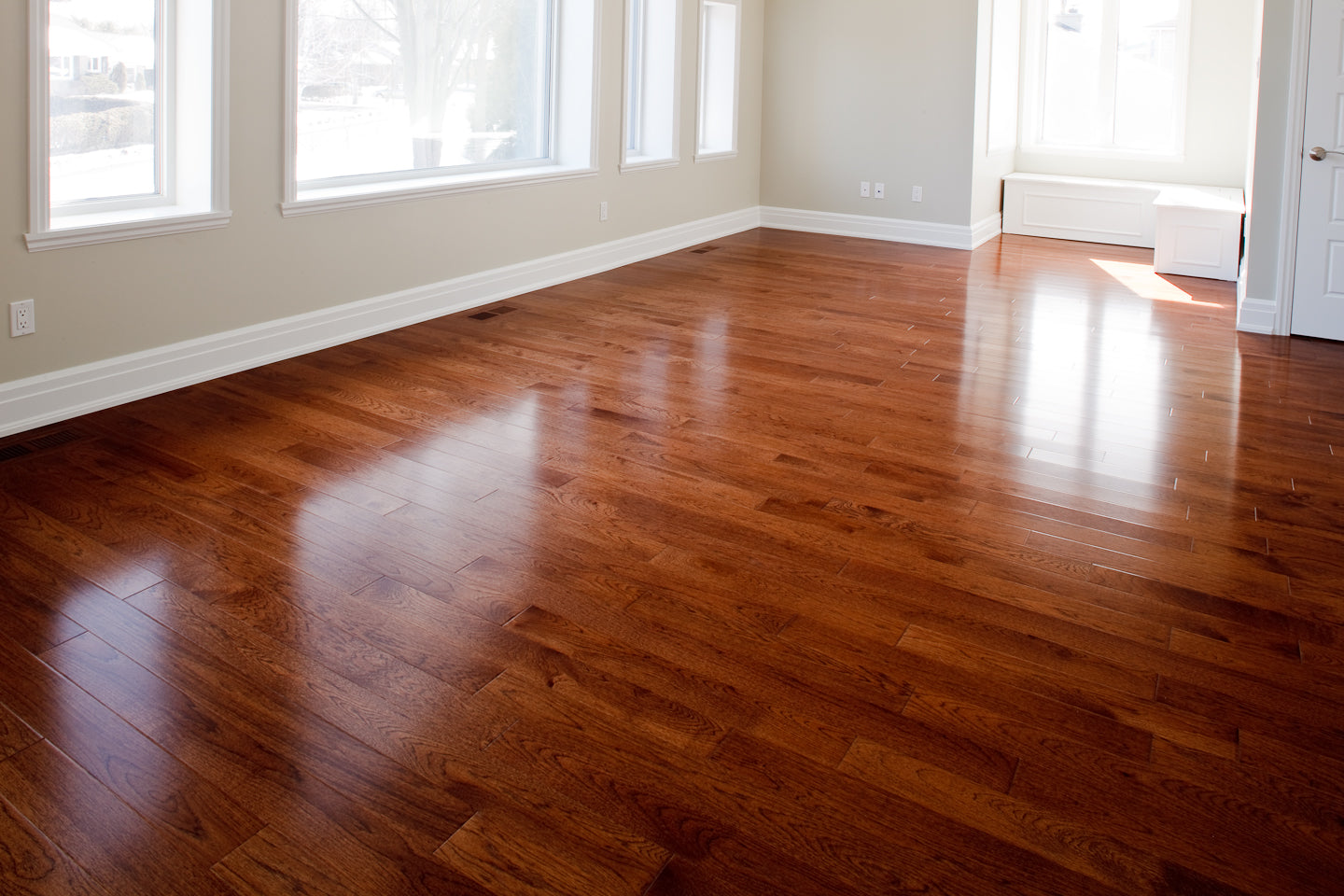 Hickory Hardwood flooring from Canada