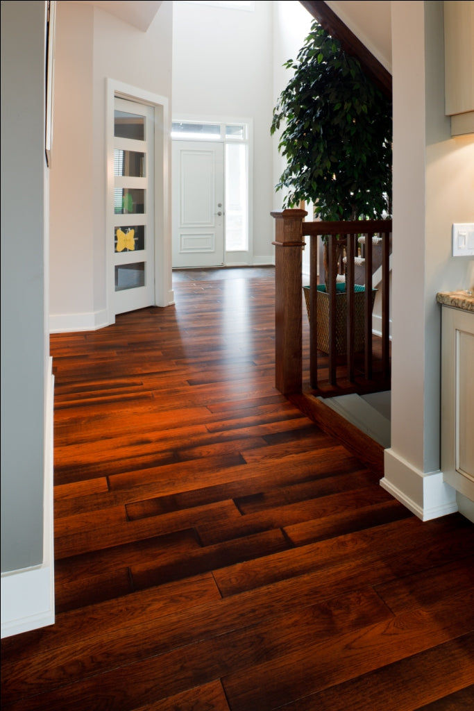antique hickory flooring