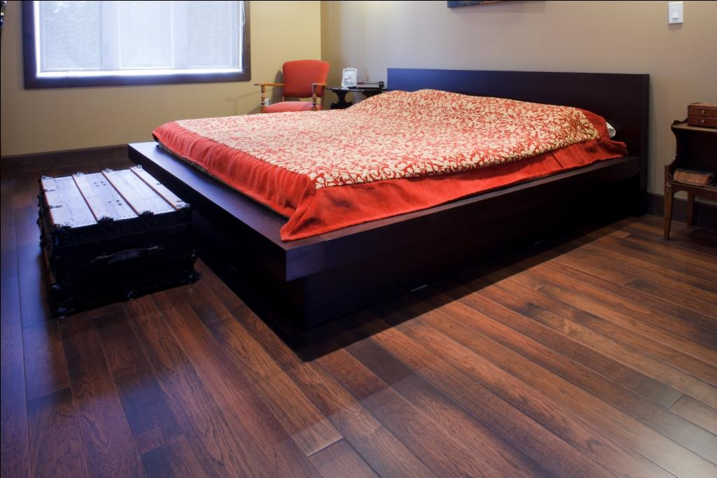 rustic hickory wood flooring in Ottawa Canada