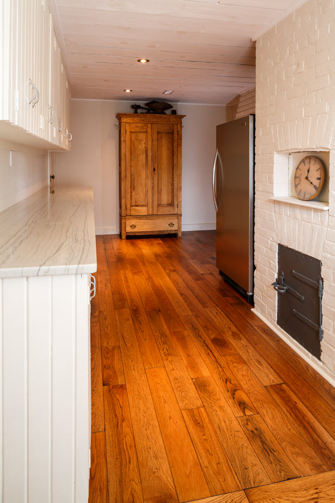 hickory antique wood flooring