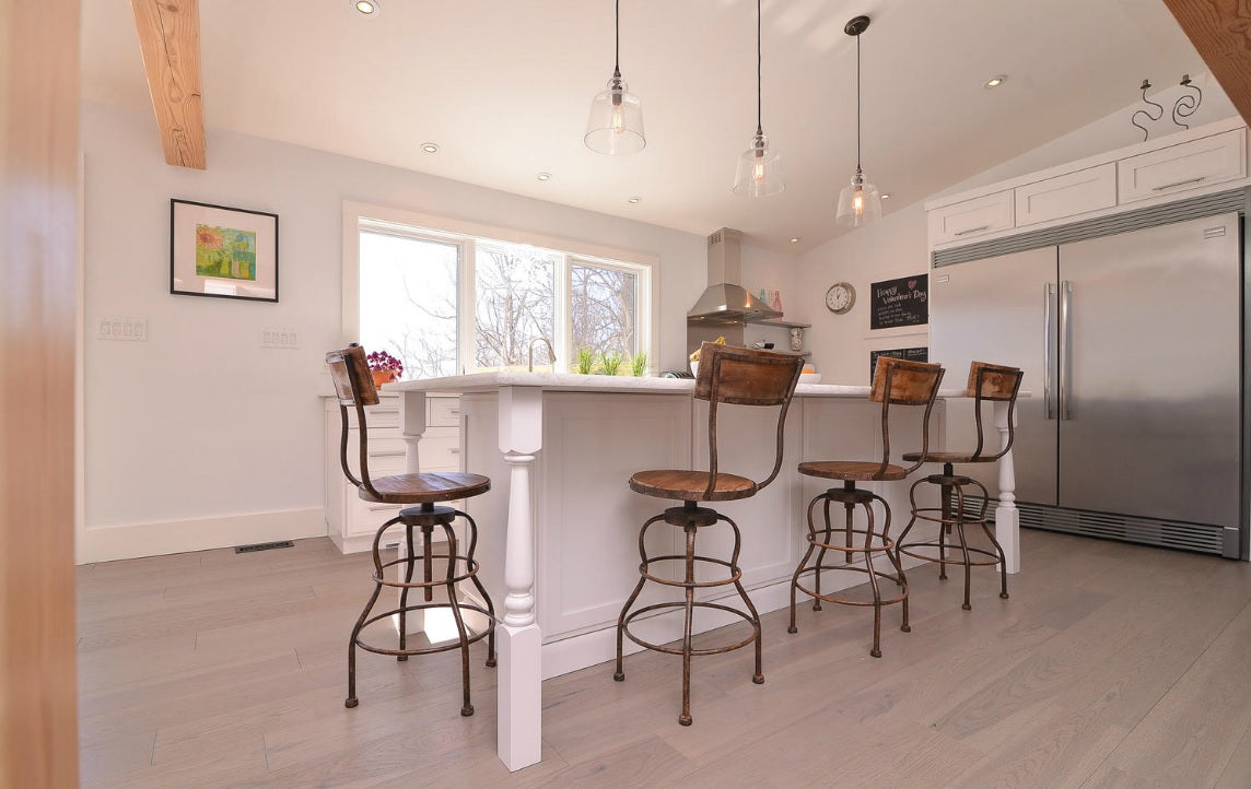 Hickory Hardwood Flooring in Edmonton