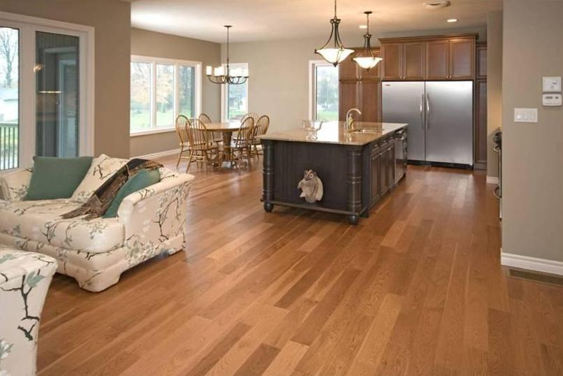Hickory Wood Flooring Red