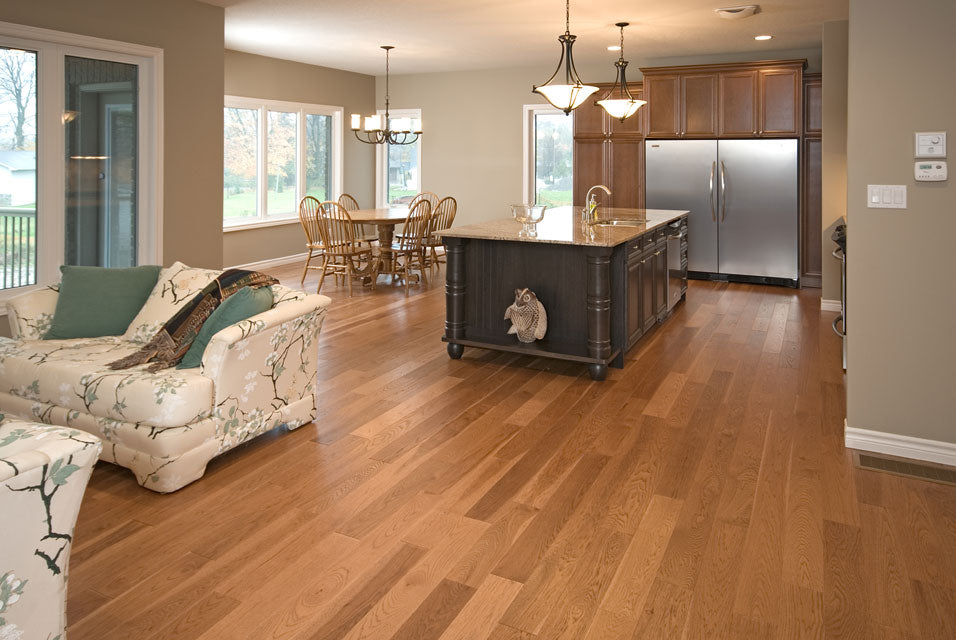 Hickory Valley Legacy with a custom hardwood flooring