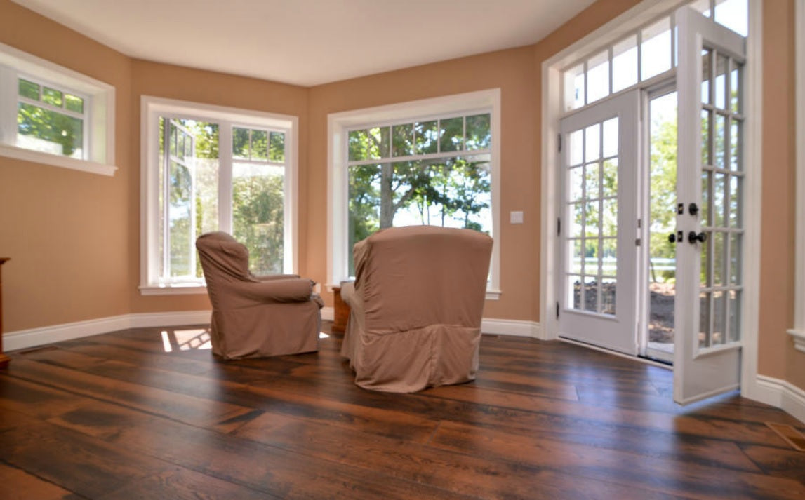 Wide Plank White Oak Flooring in Alabama