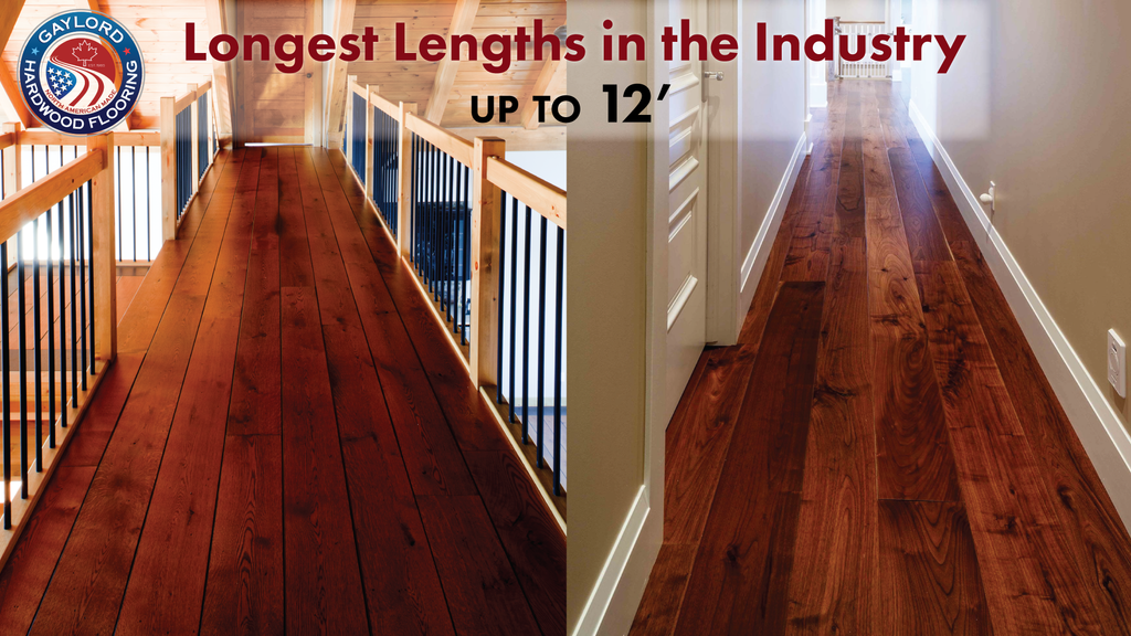 Long wood flooring boards