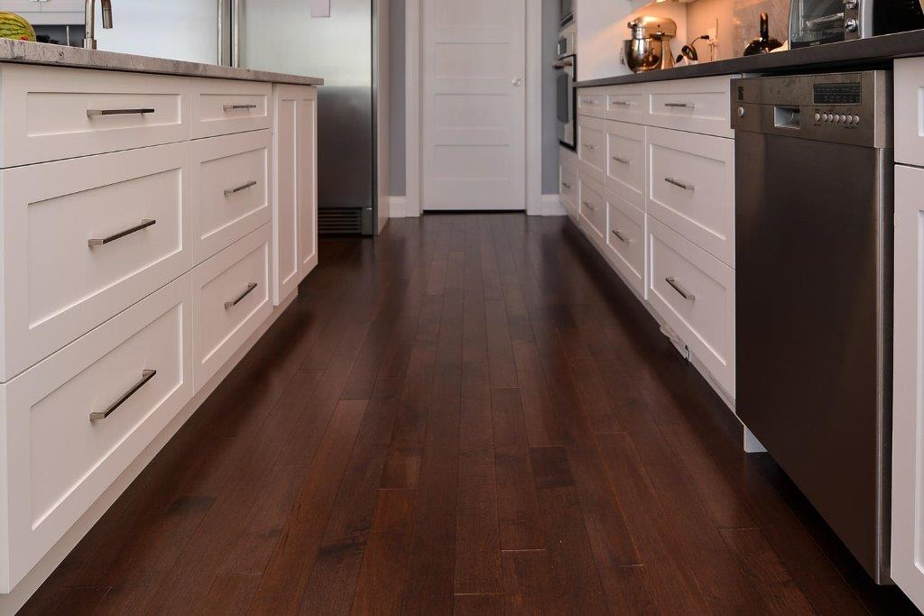 Dark Maple Hardwood Flooring