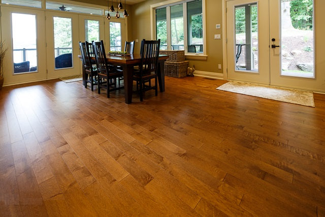 high end maple flooring