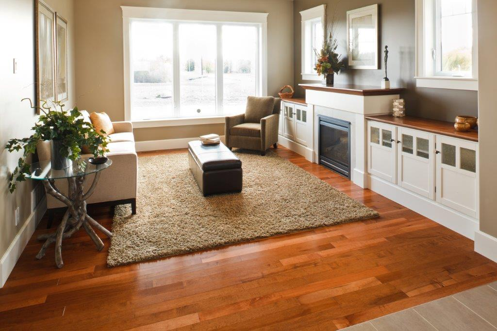 Modern Hardwood Flooring with a nice gloss