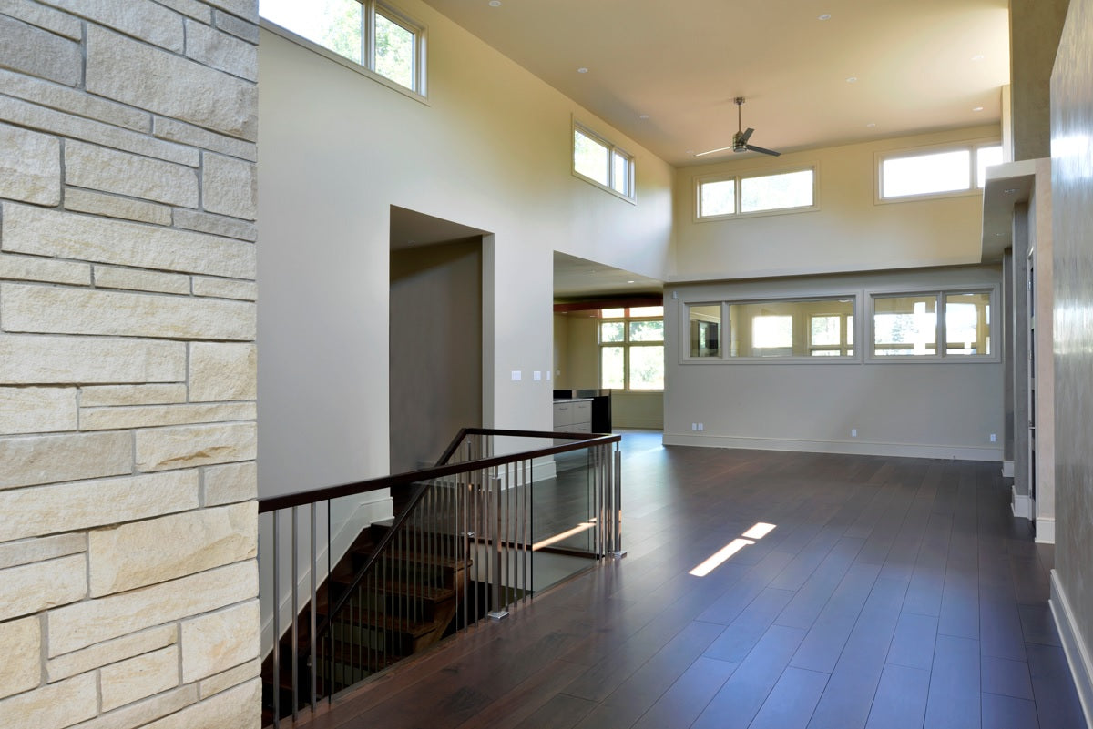 maple flooring in gray color