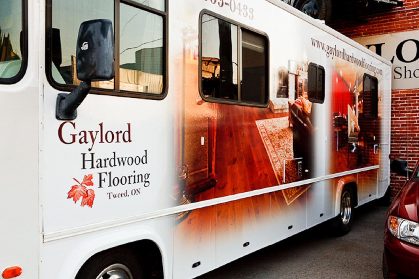 Mobile Flooring Showroom