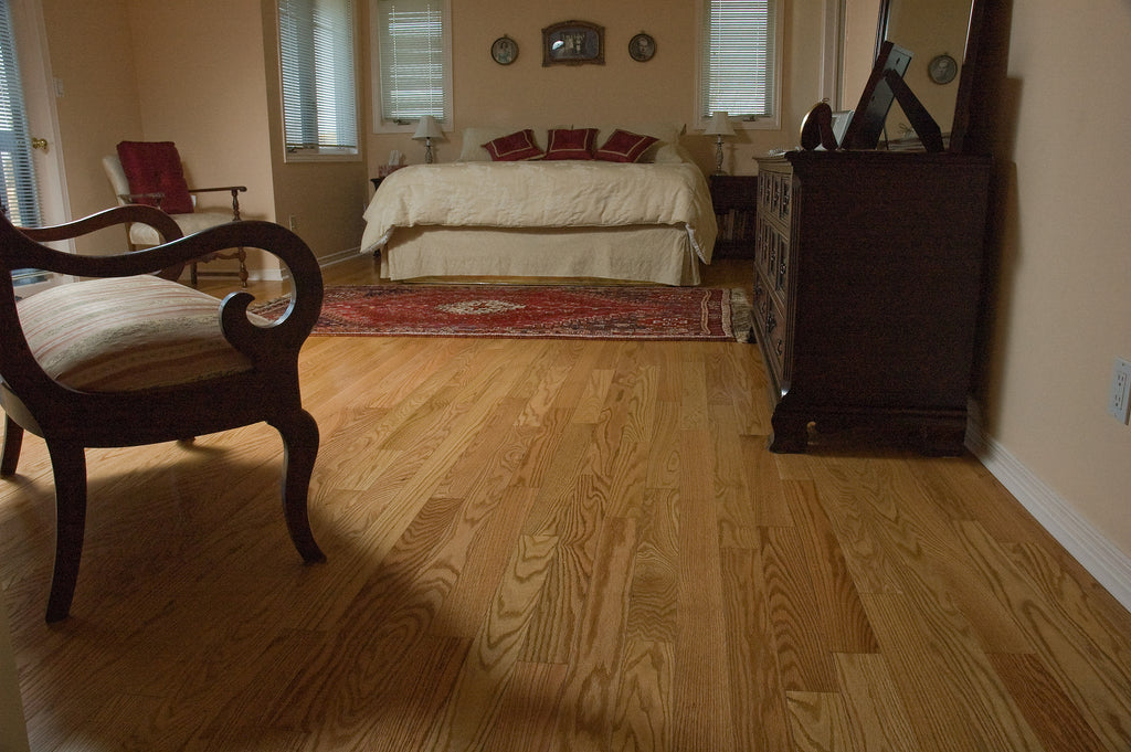 Red Oak Natural Hardwood Flooring