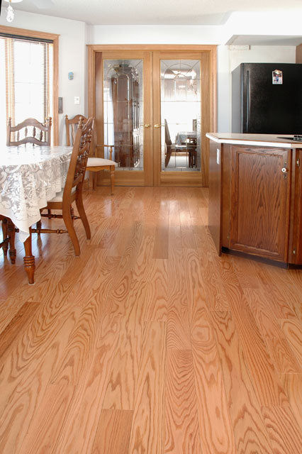 Natural Red Oak Wood Flooring