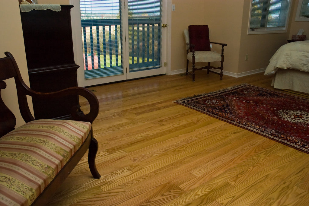 Red Oak Natural Wood Flooring