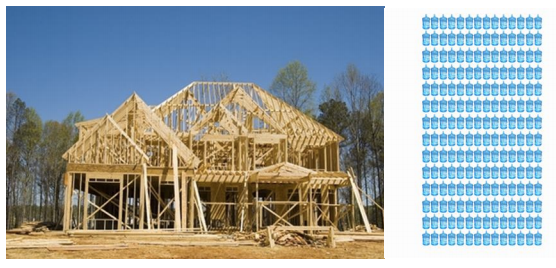 Framing of a house and how much wood flooring costs