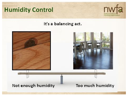 Humidity Control for Hardwood Flooring