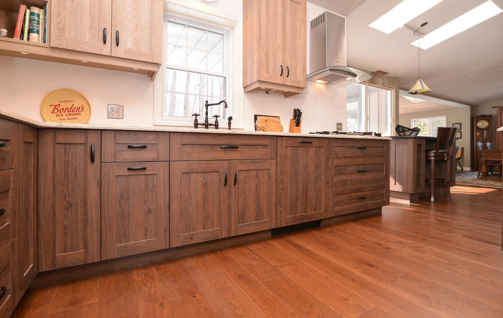 Wide Plank White Oak Hardwood Flooring