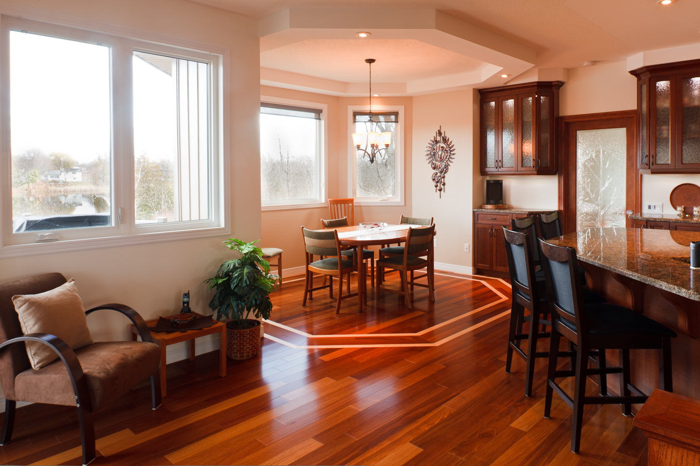 border hardwood flooring
