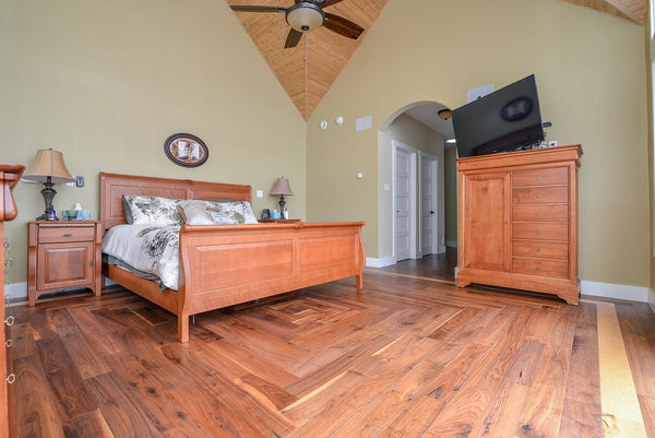 Walnut Natural Country Grade Hardwood Flooring - Gaylord Hardwood Flooring - Wood Flooring - 24