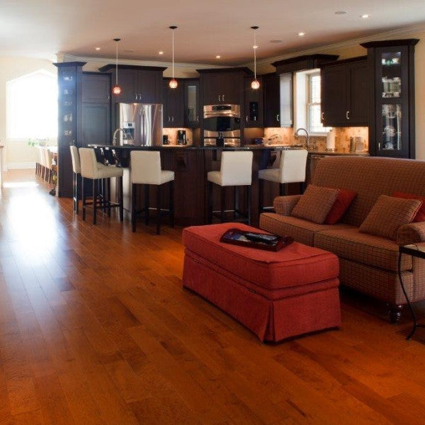 Birds Eye Maple Toffee Hardwood Flooring -  - 3