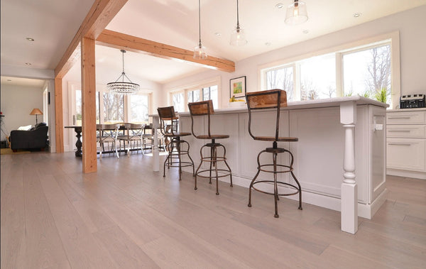 Hickory Bleached Hardwood Flooring - Gaylord Hardwood Flooring - Wood Flooring - 9