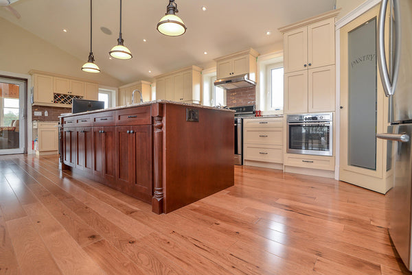 Hickory Blonde Hardwood Flooring - Gaylord Hardwood Flooring - Wood Flooring - 8
