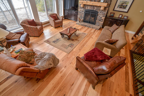 Hickory Natural Hardwood Flooring - Gaylord Hardwood Flooring - Wood Flooring - 2