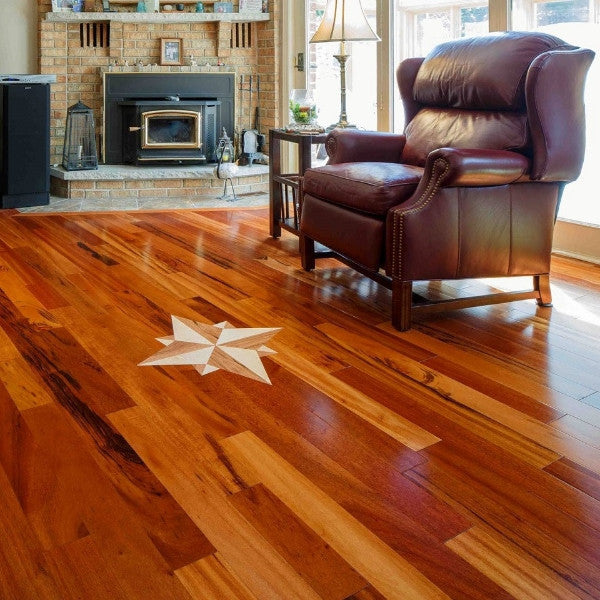 Exotic Tigerwood Prime Grade Hardwood Flooring - Gaylord Hardwood Flooring - Wood Flooring - 2