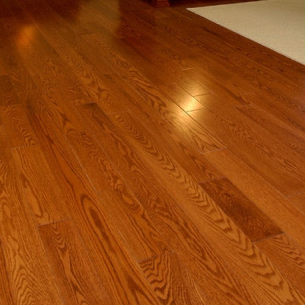 Red oak gunstock hardwood flooring gaylord hardwood flooring for Red oak hardwood flooring