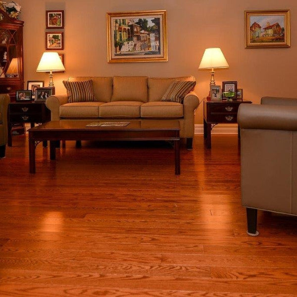 Red Oak Toffee Hardwood Flooring - Gaylord Hardwood Flooring - Wood Flooring - 5