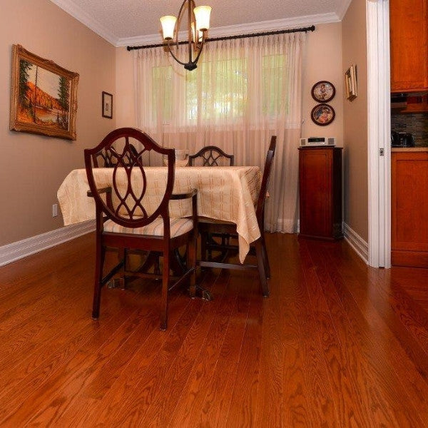Red Oak Toffee Hardwood Flooring - Gaylord Hardwood Flooring - Wood Flooring - 9
