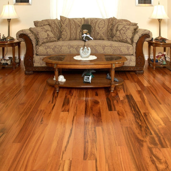 Exotic Tigerwood Prime Grade Hardwood Flooring - Gaylord Hardwood Flooring - Wood Flooring - 6