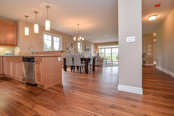 Walnut Natural Country Grade Hardwood Flooring - Gaylord Hardwood Flooring - Wood Flooring - 35