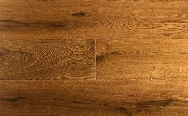 Wide Plank White Oak Hardwood Flooring Cognac Distressed