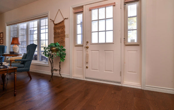 Wide Plank White Oak Hardwood Flooring Brandon Distressed - Gaylord Hardwood Flooring - Wood Flooring - 4