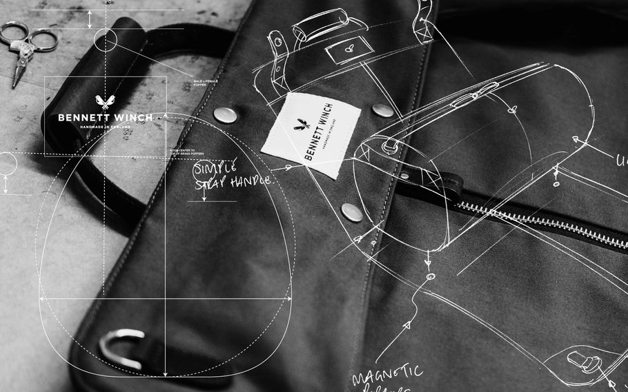 Reimagining Craft 02: The Suit Carrier Holdall