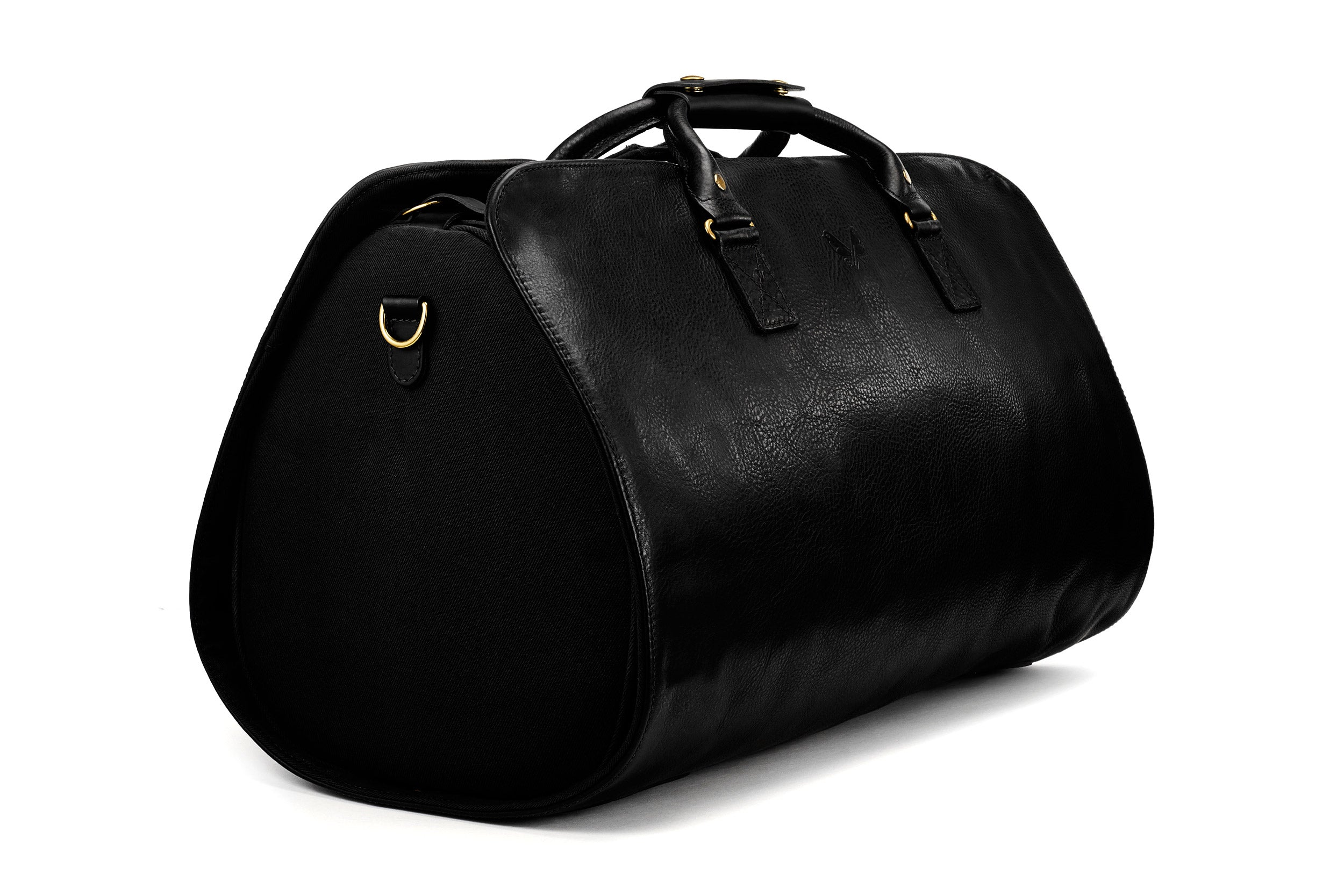 The Leather S.C Holdall - Black