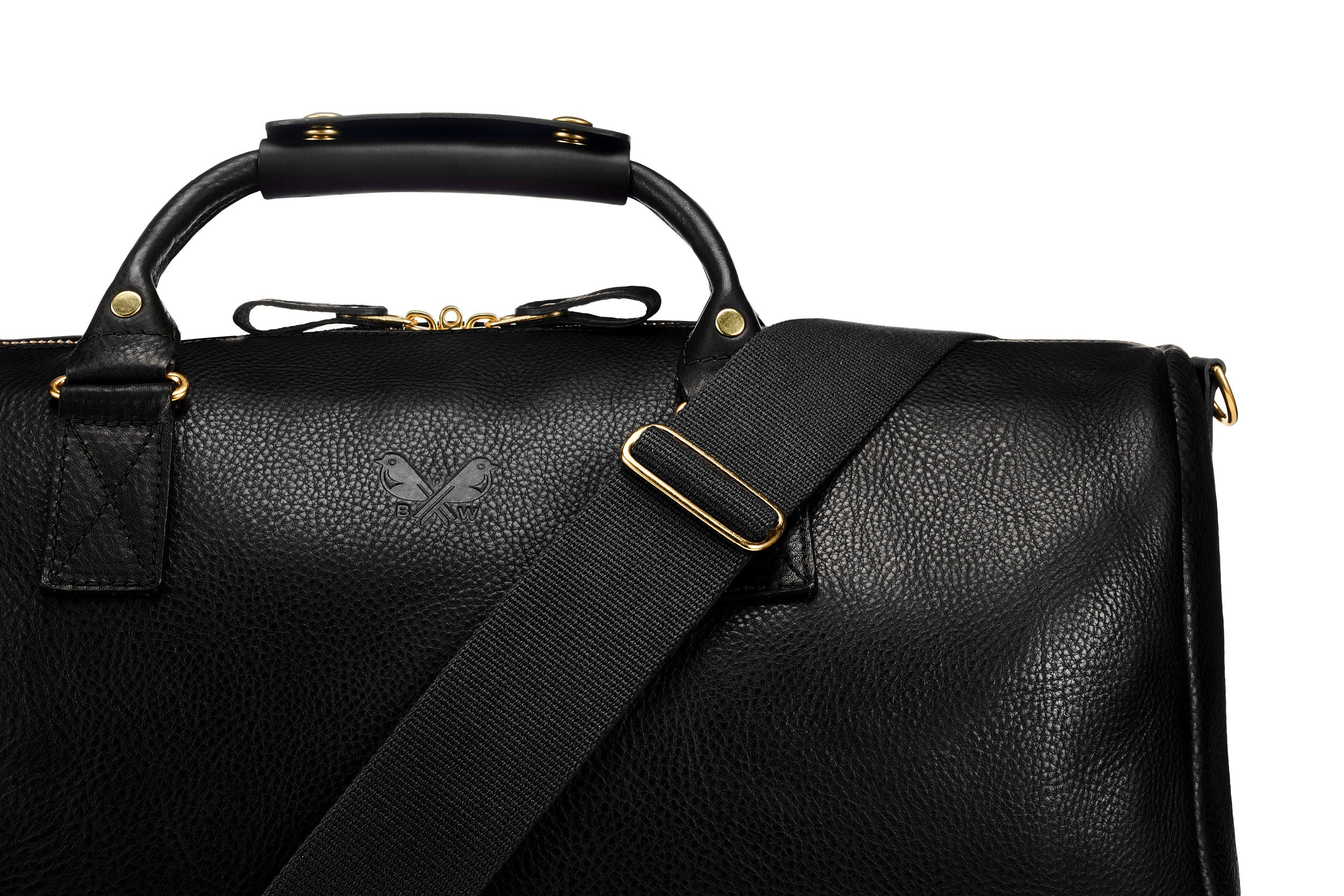 Leather Commuter - Black