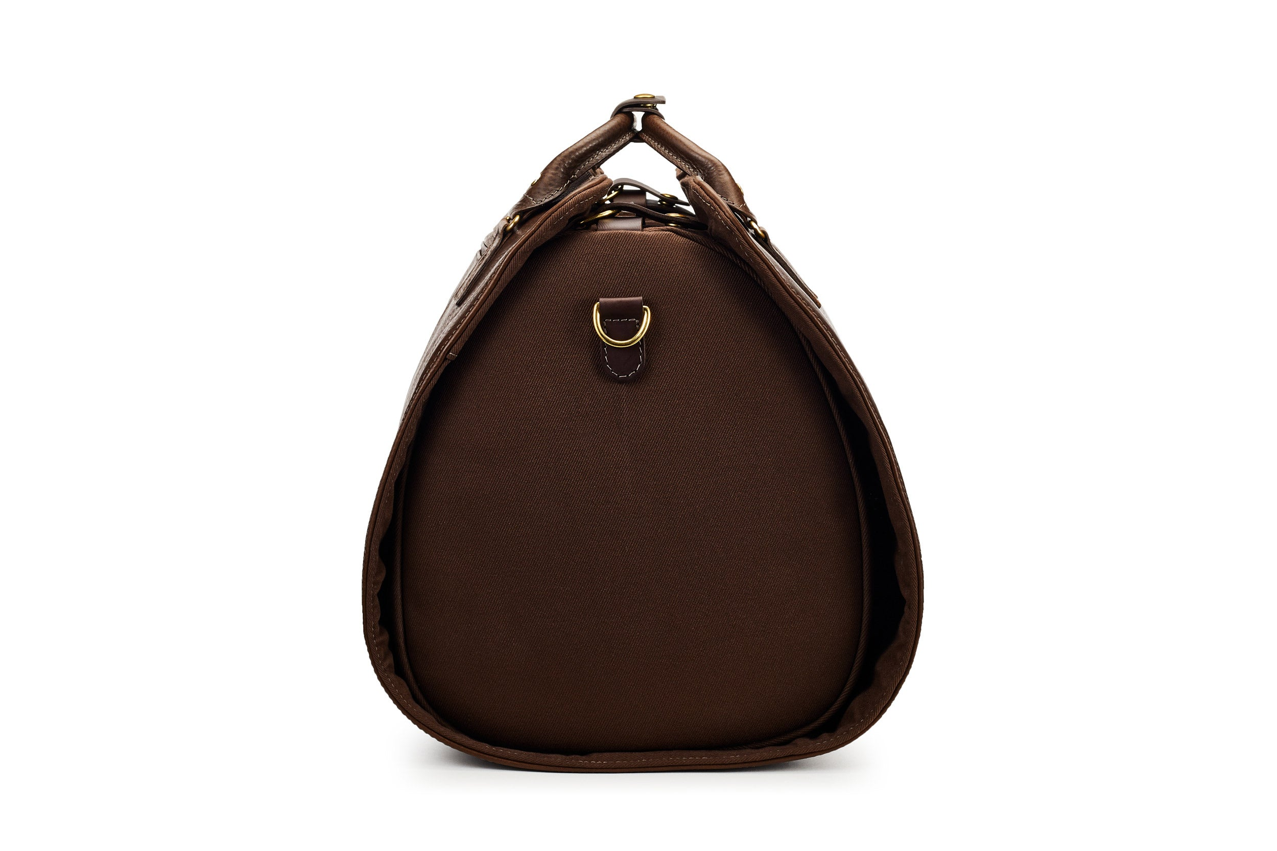 The Leather S.C Holdall - Brown