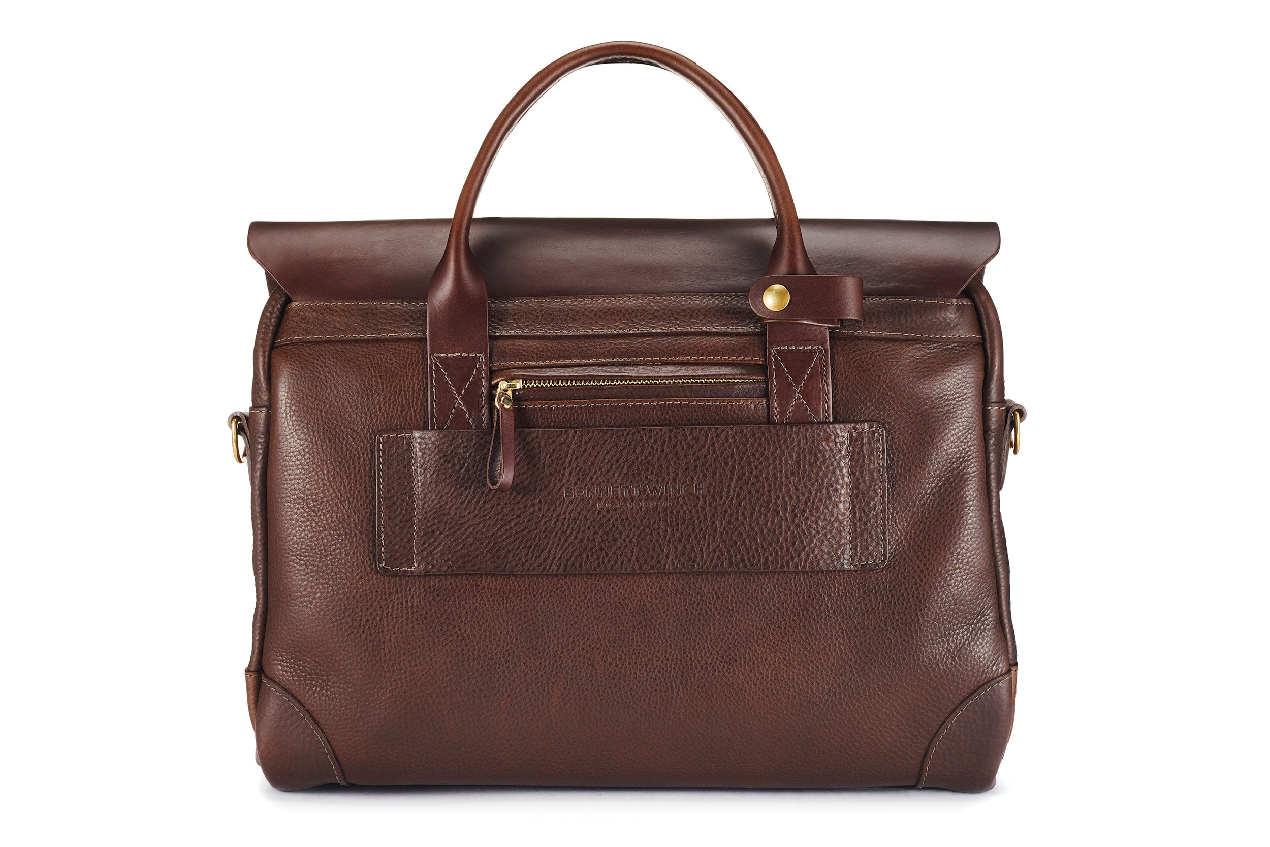 The Leather Brief - Brown