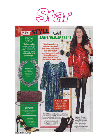 Mykonos Ring featured in Star Magazine