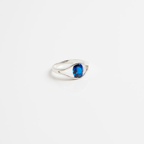 Anmaré Eye Ring Silver