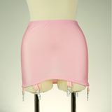 Pink Cream Beige Pull On Light Control Open Bottom Girdle OBG size S-4XL